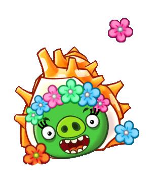 File:Angry Birds Fight! - Monster Pigs - Sazae Family - Sazae Girl.PNG