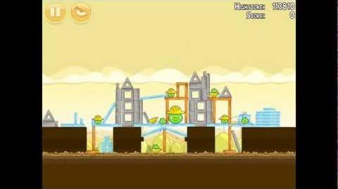 Angry Birds Big Setup 11-2 Walkthrough 3 Star