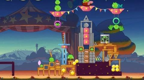 Angry Birds Seasons Abra-ca-Bacon 1-10 Walkthrough 3-Star