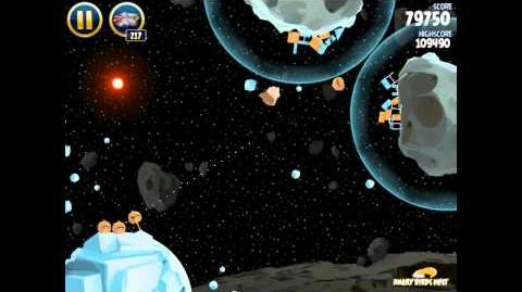 Angry Birds Star Wars 3-21 Hoth 3-Star Walkthrough