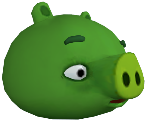 File:ANGRY BIRDS GO MINION PIG CGI.png
