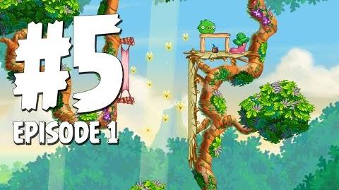 Angry Birds Stella Level 5 Walkthrough Branch Out Episode 1