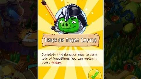 Angry Birds Epic Trick or Treat Castle Dungeon Walkthrough
