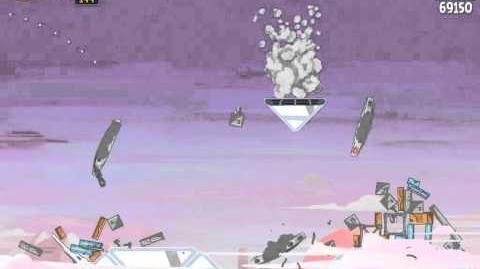 Angry Birds Star Wars 4-12 Cloud City 3-Star Walkthrough