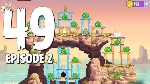 Angry Birds Stella Level 49 Episode 2 Beach Day Walkthrough