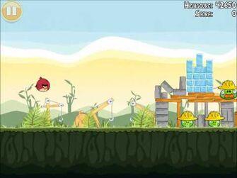 Official Angry Birds Walkthrough The Big Setup 9-9