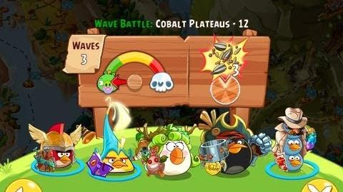 Angry Birds Epic Cobalt Plateaus Level 12 Walkthrough