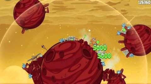 Angry Birds Space Golden Rover 4 Phoenix Lander (E-R4) Eggsteroid
