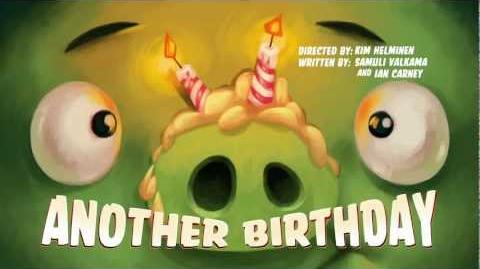 "Angry Birds Toons episode 4 sneak peek ""Another Birthday"""
