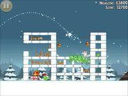 Official Angry Birds Seasons Walkthrough Season's Greedings 1-17