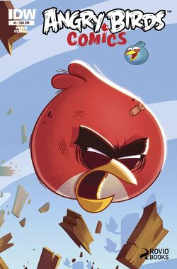 Angry birds comics -6 sub ver cover