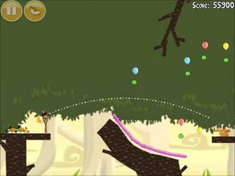 Official Angry Birds Walkthrough Danger Above 6-15