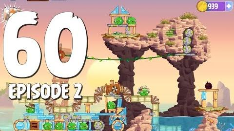 Angry Birds Stella Level 60 Episode 2 Beach Day Walkthrough