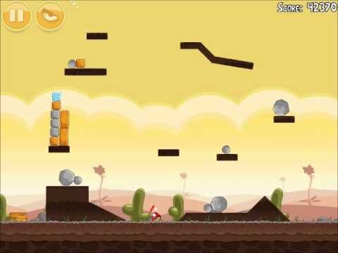 Official Angry Birds Walkthrough Poached Eggs 3-1