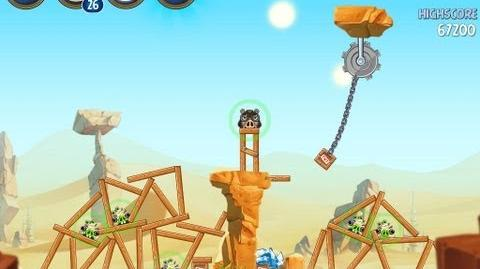 Angry Birds Star Wars 2 Level B2-9 Escape To Tatooine 3 star Walkthrough
