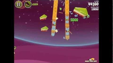 Angry Birds Space Utopia 4-19 Walkthrough 3-Star