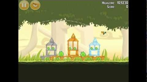 Angry Birds Danger Above 6-12 Walkthrough 3 Star