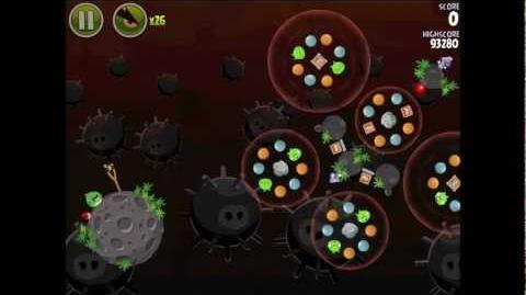 Angry Birds Space Danger Zone Level 12 Walkthrough 3 Star