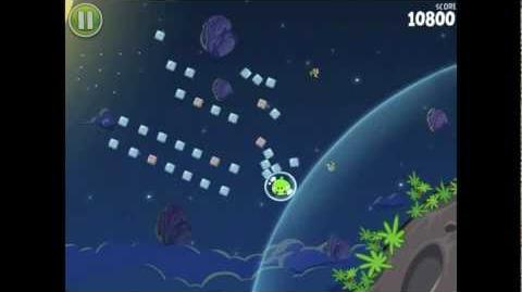 Angry Birds Space Pig Bang 1-9 Walkthrough 3-star