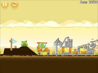 Official Angry Birds Walkthrough Mighty Hoax 5-11