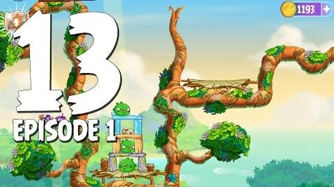 Angry Birds Stella Level 13 Walkthrough Branch Out Episode 1