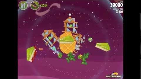 Angry Birds Space Utopia 4-16 Walkthrough 3-Star