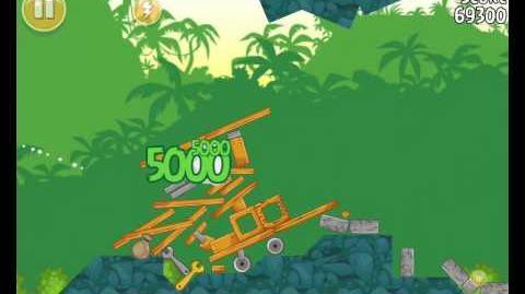 Angry Birds 21-2 Bad Piggies 3 Star Walkthrough (Angry Birds Classic 21-2)