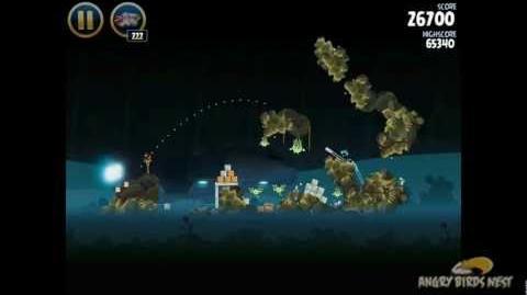 Angry Birds Star Wars 3-35 Hoth 3-Star Walkthrough