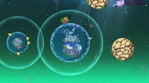 Angry Birds Space Pig Dipper Bonus Level F-6 Space Eagle Walkthrough