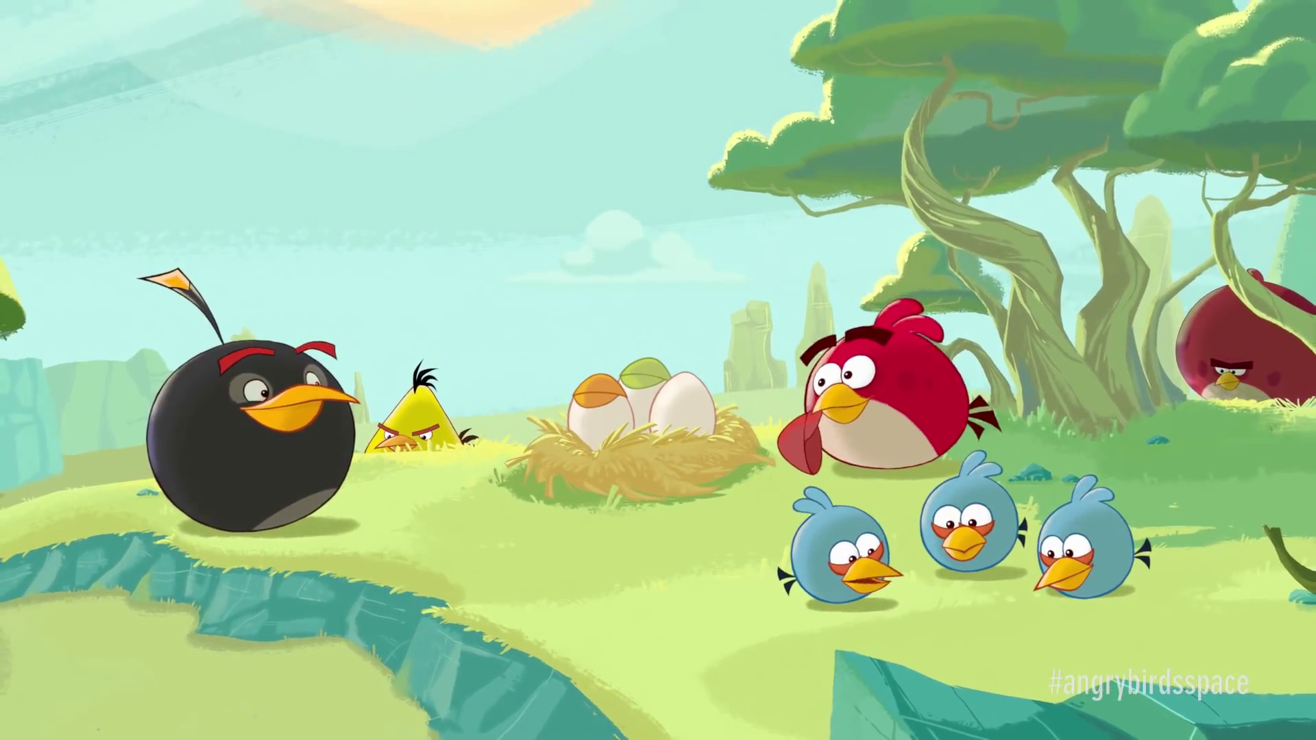 Angry birds space origins short movie angry birds wiki - Angry birds space gratuit ...
