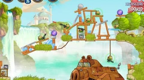 Angry Birds Star Wars 2 Level B1-20 Naboo Invasion 3 star Walkthrough