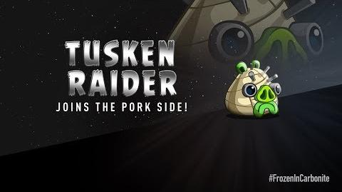 NEW! Angry Birds Star Wars 2 Carbonite Pack character reveals Tusken Raider