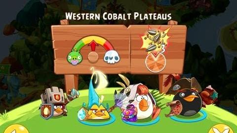 Angry Birds Epic Western Cobalt Plateaus Walkthrough