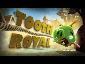"Angry Birds Toons episode 32 sneak peek ""Tooth Royal"""