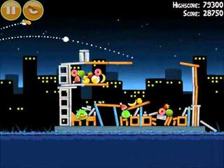 Official Angry Birds Walkthrough Danger Above 7-4