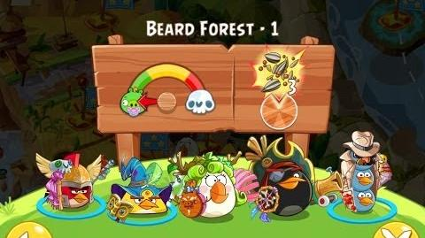 Angry Birds Epic Beard Forest Level 1 Walkthrough