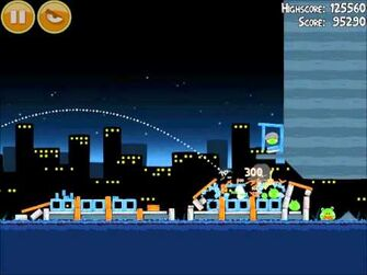Official Angry Birds Walkthrough Danger Above 7-2