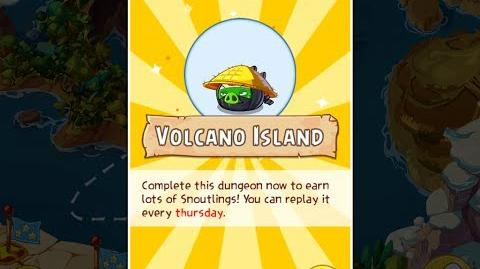 Angry Birds Epic Volcano Island Dungeon Walkthrough