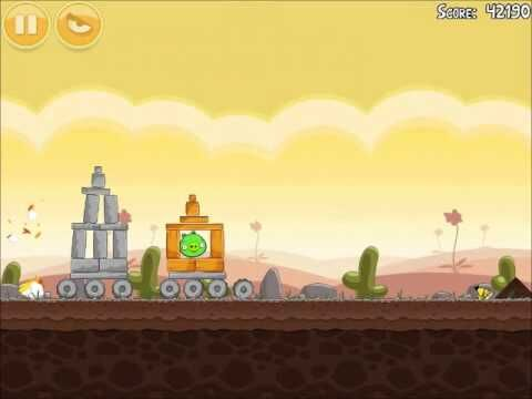 Official Angry Birds Walkthrough Poached Eggs 3-6