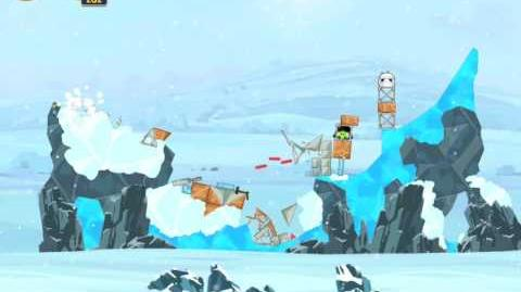Angry Birds Star Wars 3-14 Hoth 3-Star Walkthrough