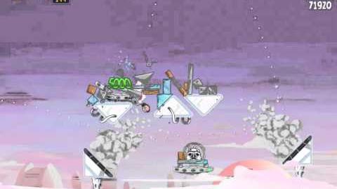 Angry Birds Star Wars 4-3 Cloud City 3-Star Walkthrough