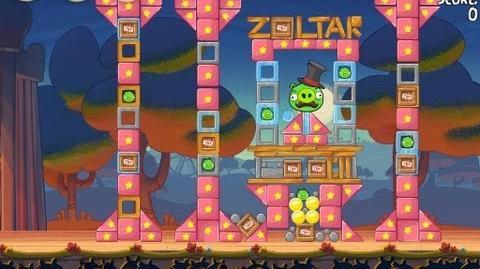 Angry Birds Seasons Abra-Ca-Bacon 2-15 Walkthrough 3-Star