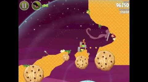 Angry Birds Space Utopia 4-24 Walkthrough 3-Star