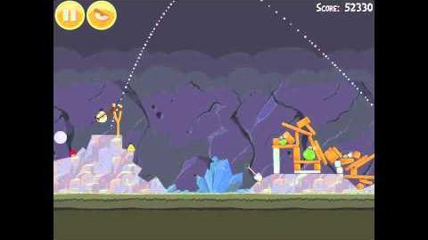 Angry Birds 17-9 Mine & Dine 3 Star Walkthrough