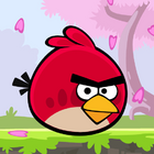 Angry Birds Seasons Square Icon Cherry Blossom