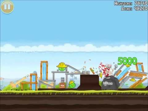 File:Official Angry Birds Walkthrough The Big Setup 10-5