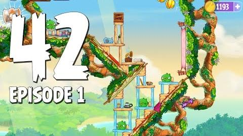Angry Birds Stella Level 42 Walkthrough Branch Out Episode 1