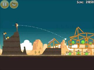Official Angry Birds Walkthrough Ham 'Em High 14-10