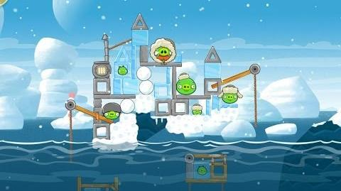 Angry Birds Seasons Arctic Eggspedition 1-7 Walkthrough 3 Star