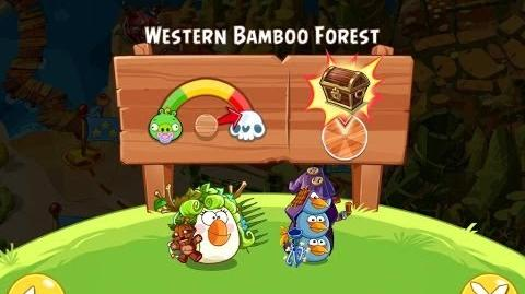 Angry Birds Epic Western Bamboo Forest Walkthrough